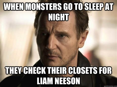 Liam Neeson Memes - some halloween horror nights visitors turn into real