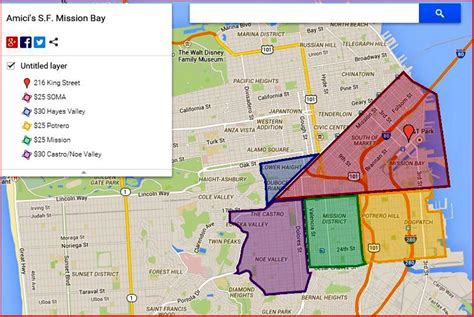 sections of san francisco san francisco neighborhoods districts autos post