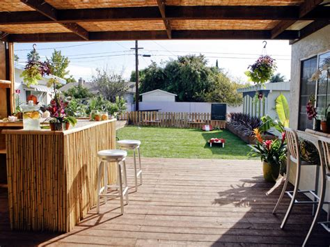 tiki backyard designs photo page hgtv