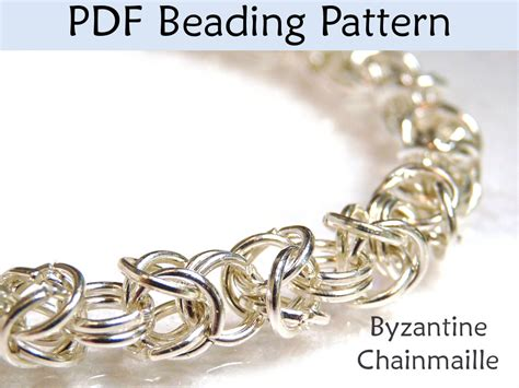 beading tutorial pattern bracelet necklace wire work