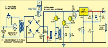 simple auto turn battery charger circuit diagram circuit wiring diagram must