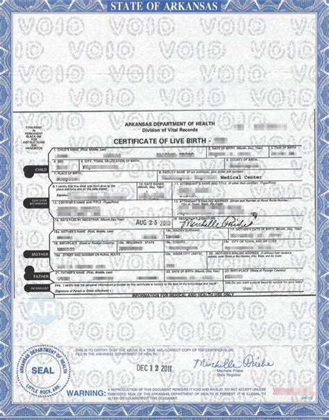 Arkansas Department Of Birth Records Arkansas Apostille Apostille Service By Apostille Net