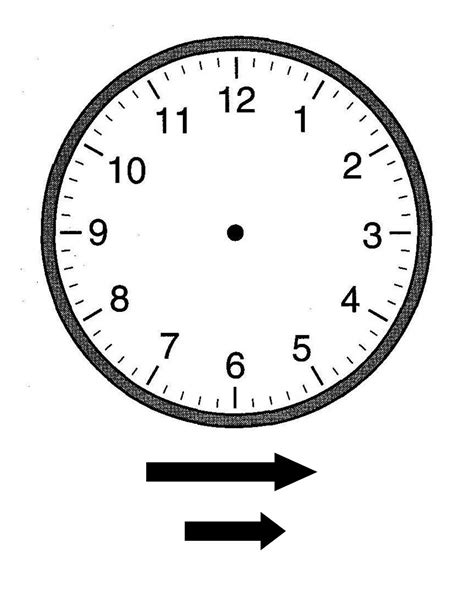 clock templates for printing blank clock faces templates activity shelter
