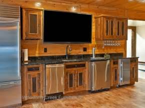 Rustic Wood Kitchen Cabinets Barnwood Kitchen Cabinets Wet Bar Reclaimed Rustic