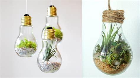 diy home decor crafts diy crafts for room decor terrarium inside a ligh bulb