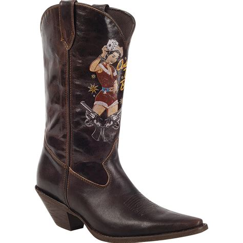 durango boots for crush by durango s pin up brown western boots