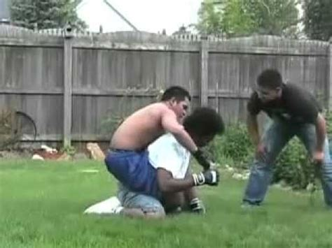 backyard mma fights garage fight vidoemo emotional video unity
