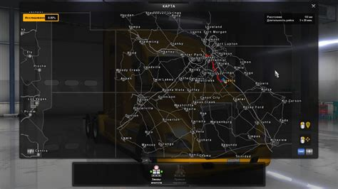 map usa truck simulator hawaii colorado map american truck simulator mods