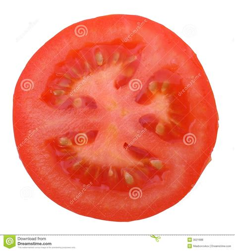 tomato cross section section of tomato royalty free stock photos image 3021688