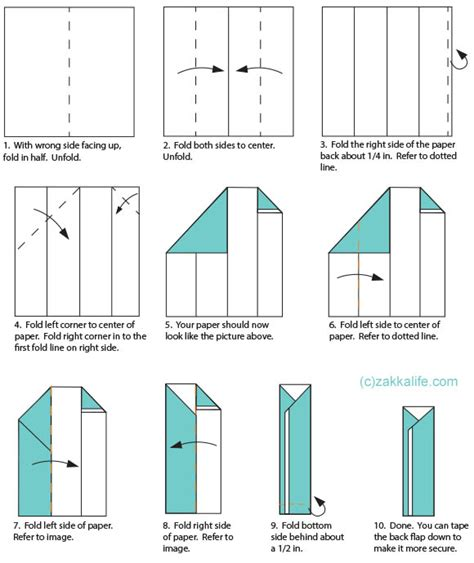 How To Make Paper Holding - printable origami chopstick holder zakka