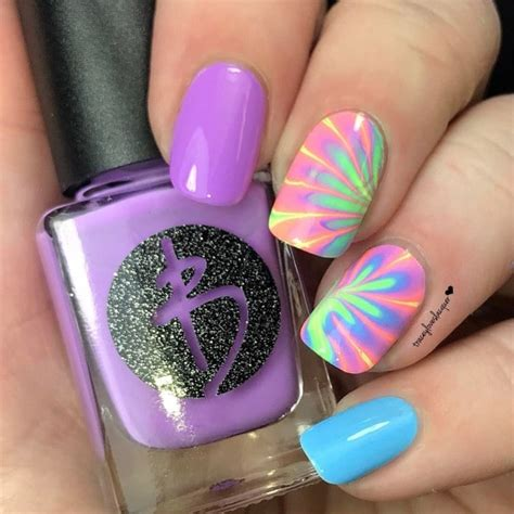 tutorial nail art water diy how to make an easy water marble nail art for the summer