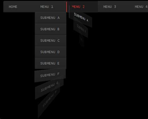 drop menu template html whirling css3 dropdown menu