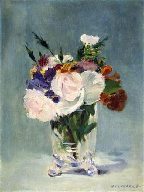 all poster fiori fiori in un vaso di cristallo sta fotografica di