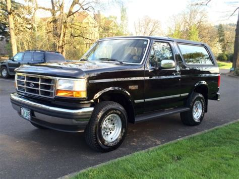 automotive air conditioning repair 1993 ford explorer interior lighting 1993 ford bronco xlt 4x4 centurion suv 5 8l 351 v8 auto fully loaded no reserve