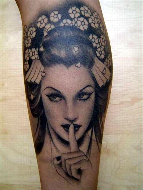 geisha tattoo on dark skin 81 best geisha tattoos images on pinterest geisha