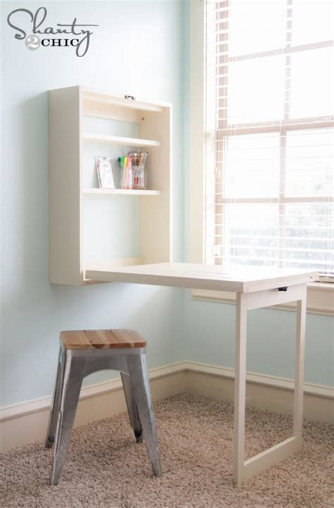 Diy Table Desk by Diy Murphy Desk Shanty 2 Chic