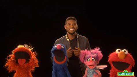M Sesame Abcs usher sings the alphabet for quot sesame quot
