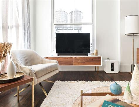 west elm homepolish and sonos team up to design a home decoration