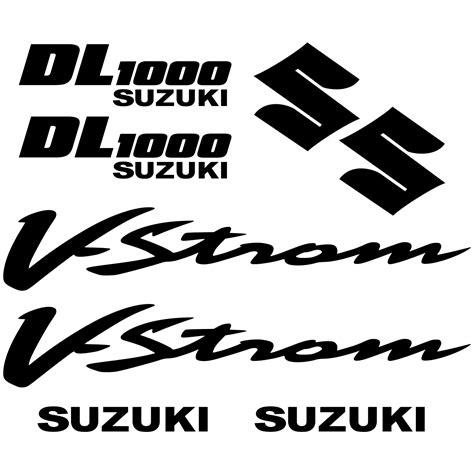 Suzuki Decals Uk Wallstickers Folies Suzuki Dl 1000 Vstrom Decal Stickers Kit