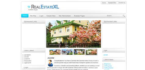 free real estate joomla templates modern joomla real estate template model resume ideas