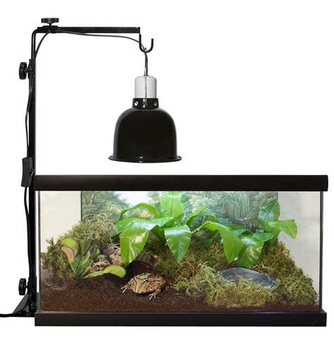 zoo med l stand use a reptile l stand to safely suspend any of zoo med