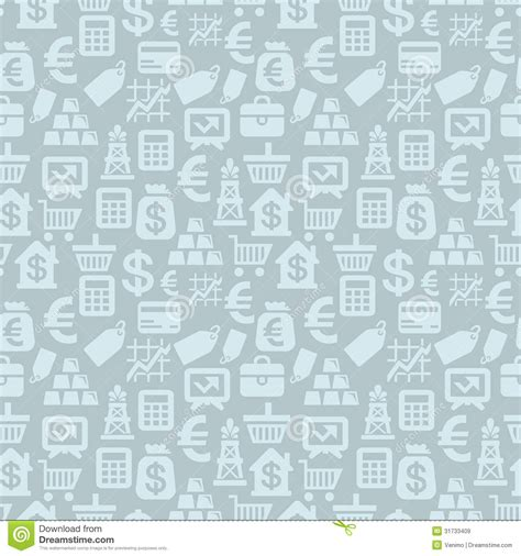 icon pattern background free vector seamless pattern with finance icons royalty free
