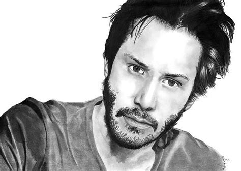 keanu reeves tattoo keanu reeves portrait design