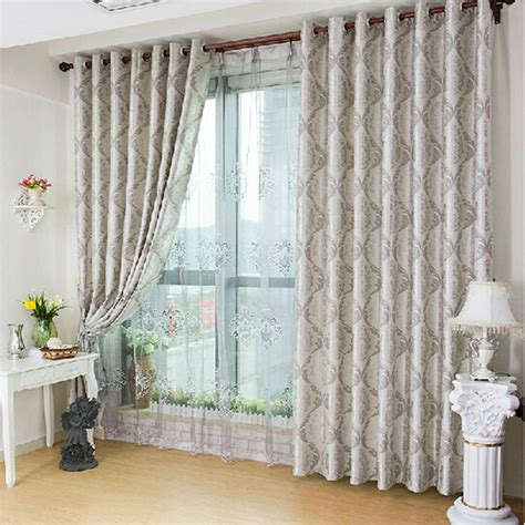 curtains for double window aliexpress com buy finihsed window curtains marion