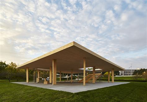 flat architecture gallery of lakefront kiosk ultramoderne 2
