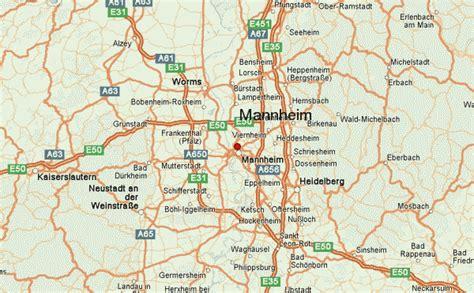 manheim germany map mannheim location guide