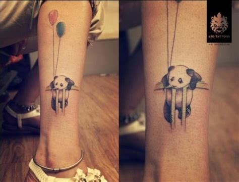 panda angel tattoo 25 awesome panda bear tattoo ideas