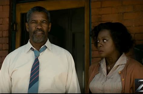 denzel washington viola davis denzel washington and viola davis perform a striking duet