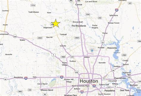 map of magnolia texas land for sale sh 249 near sh 149 spur magnolia tx 77355