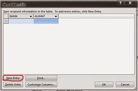 membuat mail merge word 2013 membuat mail merge pada microsoft word 2013 berbagi ilmu