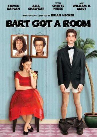 bart got a room bart got a room dvd 2009 starring jon polito william h macy cheryl hines tilly