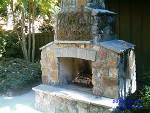 triyae backyard fireplace plans various design