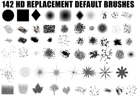 photoshop brushes hi def photoshop brush set free photoshop brushes at