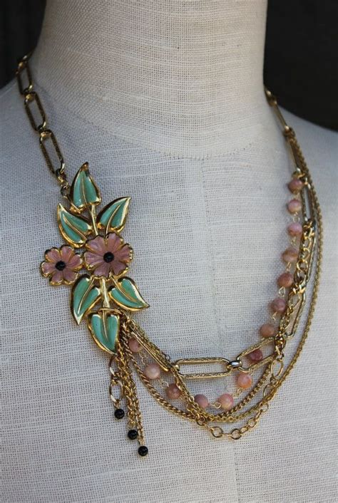 upcycling jewelry vintage jewelry upcycle upcycle jewelry