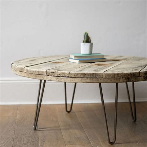 cable coffee table cable reel coffee table diy pinterest cable reel