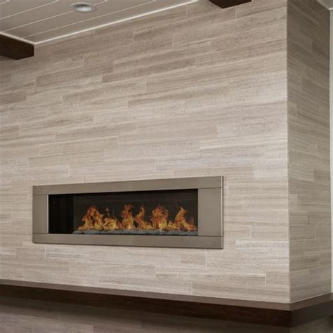 Silver Fireplace by Surround Your Fireplace In Silver Beige Vein Cut Limestone From Arizonatile Sublime