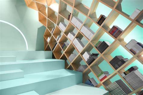 Library Interior Design Concept by Conarte Library Interior Design Concept By Anagrama