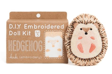 animal doll kit create your own animal doll with these diy embroidery kits