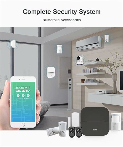 hy w20 wifi gprs sms burglar home security