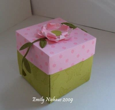 explosion box tutorial in english explosion box tutorial gift giving pinterest