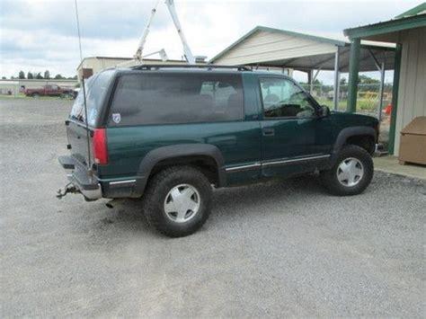 buy used 1998 chevrolet 2 door tahoe in south