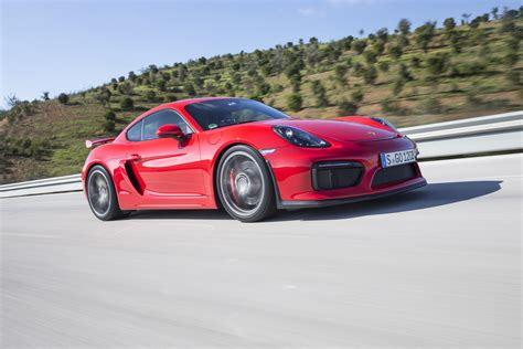 cayman porsche 2016 2016 porsche cayman gt4 front three quarter in motion 11
