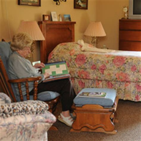 decorate nursing home room assisted living private room