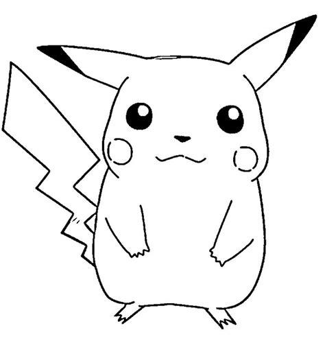 imagenes para pintar tiernas enternecedoras imagenes de pikachu para dibujar sencillas