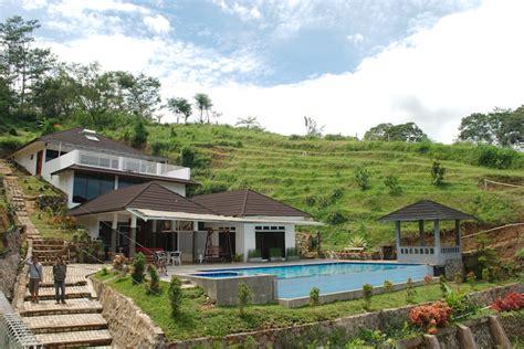 Teh Villa villa tania kolam renang pribadi dengan panorama alam