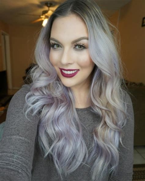grey blonde hairstyles 78 grey hairstyles to try for a hot new look